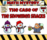Math Mystery The Case of the Sneaky Snowman Grade 4