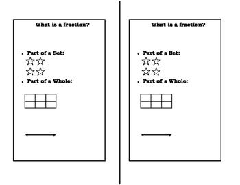 Math Notebook: Basic Fractions