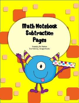 Math Notebook Borrowing Pages