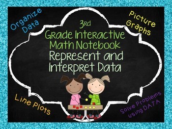Math Notebook Pages: Represent and Interpret Data Aligned