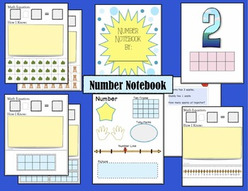 Math Numbers Notebook