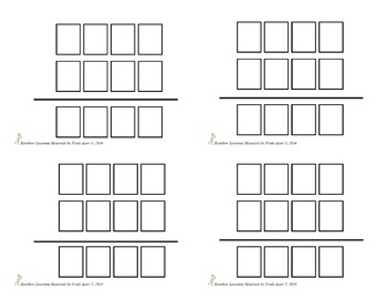 Math Operations Blank Master