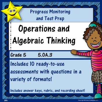 Math Operations and Algebraic Thinking, Grade 5, Part 3