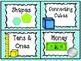 Math Organizing Labels