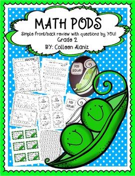 Math POD Grade 2