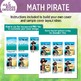 Math Pirate Clip Art Set