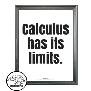Math Poster - Calculus