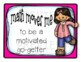 Growth Mindset Poster Set for Math