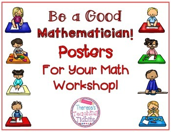 Math Posters Be a Good Mathematician! Posters For Your Mat