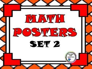 Math Posters Set 2