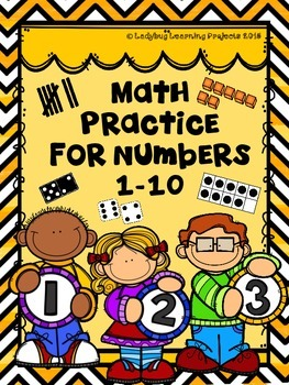 Math Practice For Numbers 1-10