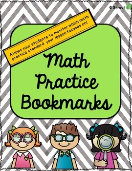 Math Practice Standards - Bookmarks!