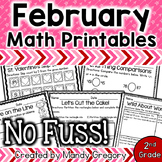 Math Printables for February (No Fuss!)