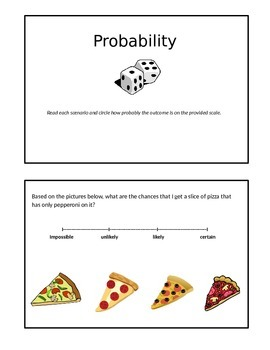 Math Probability Practice Booklet