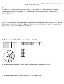 Math Problem Solving