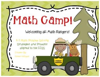 Math Problem Solving Camping Theme