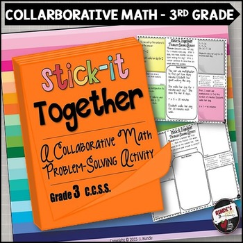 Math Problem-Solving Collaborative Activity for 3rd Grade