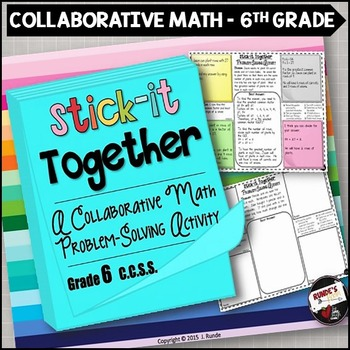 Math Problem-Solving Collaborative Activity for 6th Grade