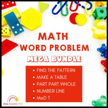 Math Problem Solving Mega Bundle - over 200 pages of works