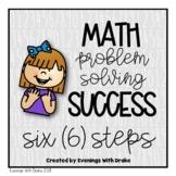 Math Problem Solving Steps (CCSS aligned)
