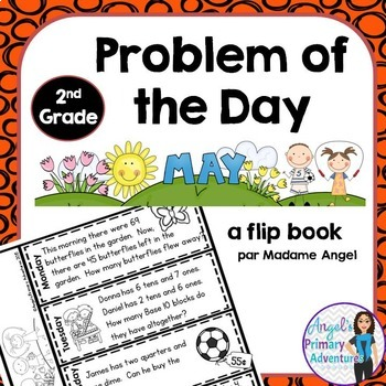 Math Problem of the Day for Second Grade:  May