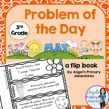 Math Problem of the Day for Third Grade: May