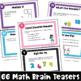 Math Problems and Math Brain Teasers Cards Set B