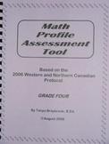 Math Profile Assessment Tool -- Grade 4