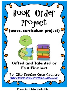 Math Project - Book Orders - real life project (math, read