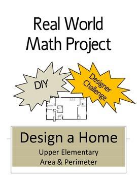 Math Project-Design a Home/Area & Perimeter