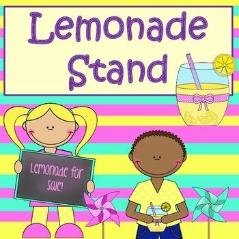 Math Project:  Lemonade Stand Grades 3-5