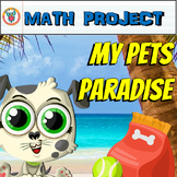 Math Project: My Pets Paradise {Mixed Math Skills Review}