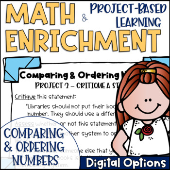 Math Project-based Learning & Enrichment for Comparing and