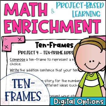 Math Project-based Learning & Enrichment for Five and Ten