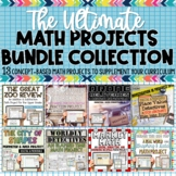Math Projects MEGA BUNDLE