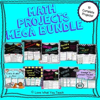 Math Projects Mega Bundle