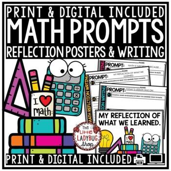 Math Writing Prompts & Reflective Math Writing