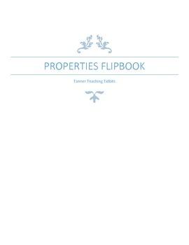 Math Properties Flipbook