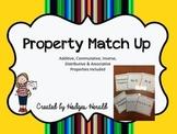 Math Properties Match Up