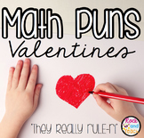 Math Puns Valentine Cards