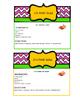 Math Quizine- Recipe Game - Set 2: Fruit Salad