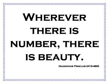 Math Quotes 2 for the Math Classroom