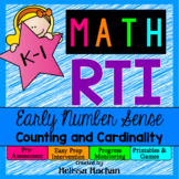 Math RTI / Math Intervention - Early Number Sense - Counti