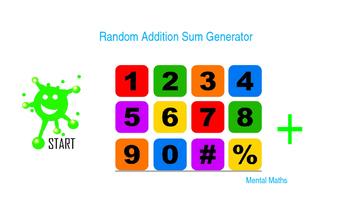 Math. Random Addition Sum Generator.