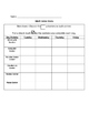 Math Recording Sheet for Differentiated Centers