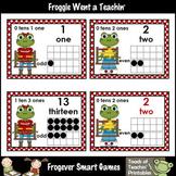 "Math Resource -- ""Hoppy"" School Froggies Number Wall Heade"
