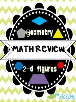 Math Review: Geometry 2D Shapes