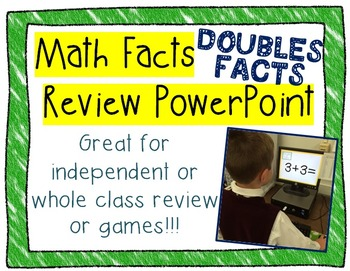 Doubles Facts~ Math Review PowerPoint