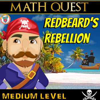 Math Review Quest - Redbeard's Rebellion (MEDIUM)