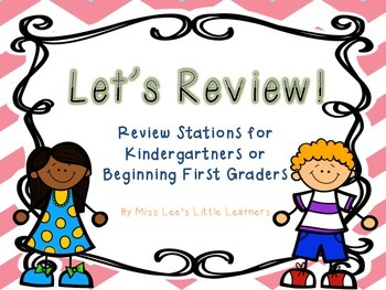 Math Review Stations